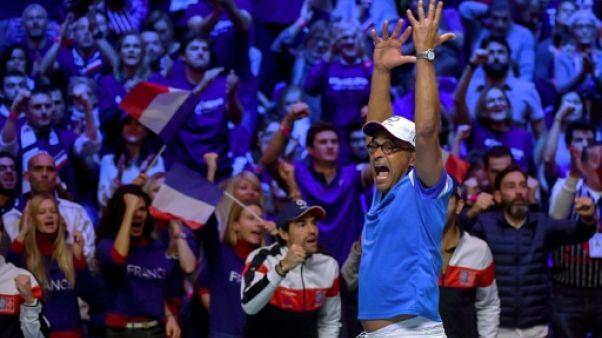 """Coupe Davis: """"C'est ma dernière saison"""", annonce Noah"""