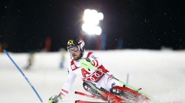 Ski: Hirscher domine la 1re manche du slalom de Schladming