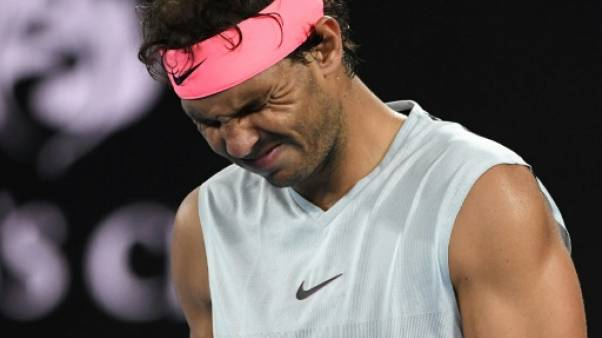 Open d'Australie: Rafael Nadal absent trois semaines
