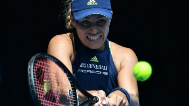 Open d'Australie: Angelique Kerber de retour en demi-finale