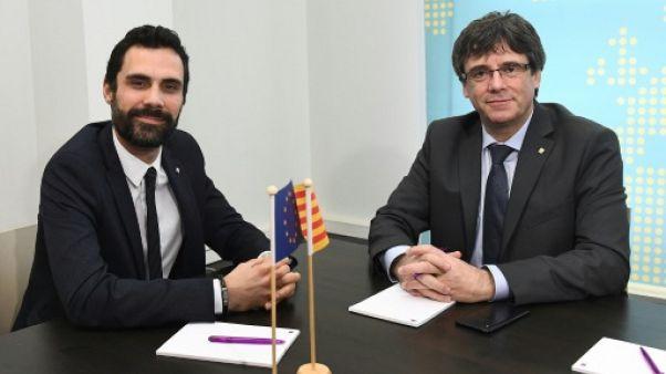 Réunion à Bruxelles entre Puigdemont et le président du parlement catalan