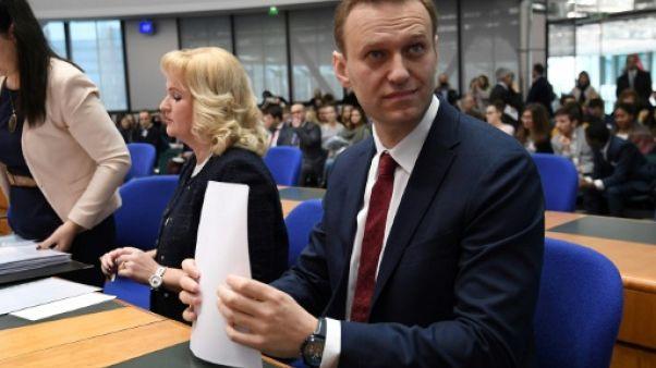 Alexeï Navalny face à l'Etat russe devant la CEDH
