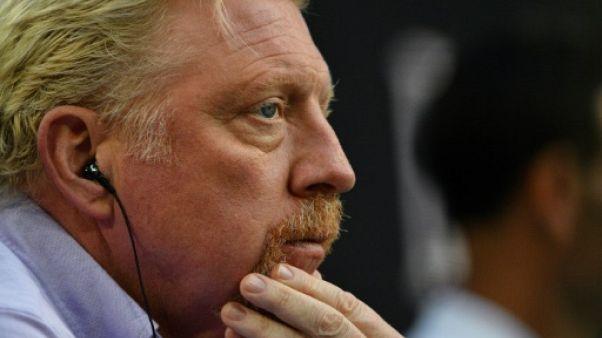 Tennis: Becker à la recherche de 5 trophées du Grand Chelem perdus