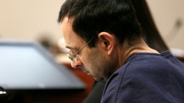 Gymnastique américaine: Nassar condamné à une peine de 40 à 175 années de prison (juge)