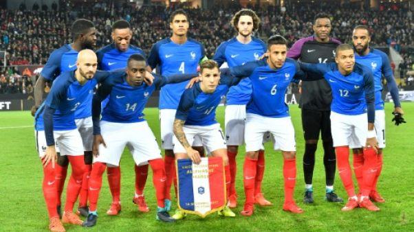 Foot: M6 et TF1 se partagent les matchs des Bleus jusqu'en 2022