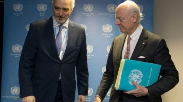 """Syrie : pourparlers du """"dernier espoir"""" à l'ONU à Vienne"""