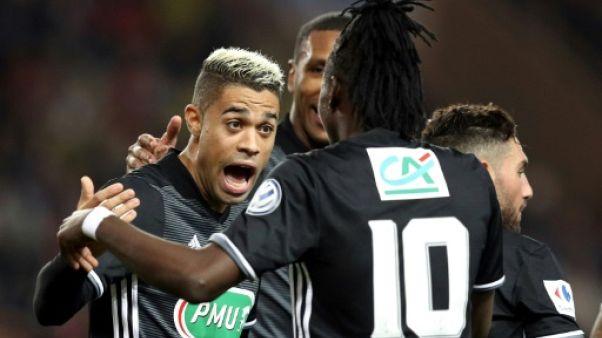 Coupe de France: Lyon bat Monaco et va en 8e