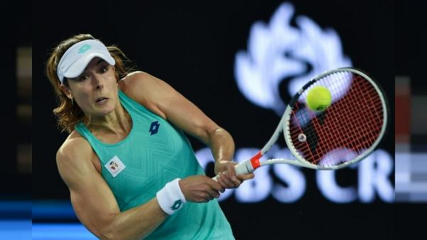 Dopage: pas de Fed Cup pour Cornet après 3 contrôles inopinés manqués