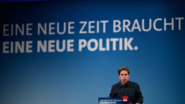 Rébellion des jeunes du SPD contre une alliance avec Merkel