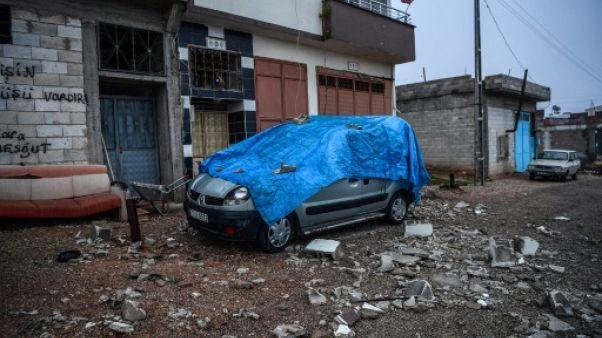 Turquie: vivre sous les roquettes à la frontière syrienne