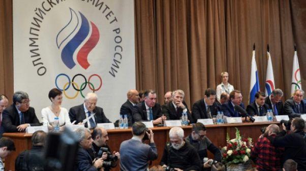 JO-2018: le CIO élague la délégation russe autorisée à participer sous bannière olympique