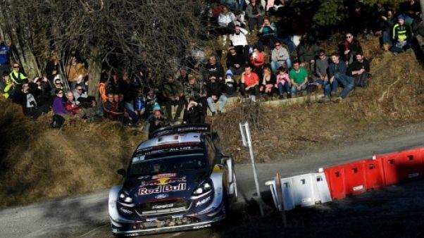 Rallye Monte-Carlo: Ogier (M-Sport Ford) domine la première journée