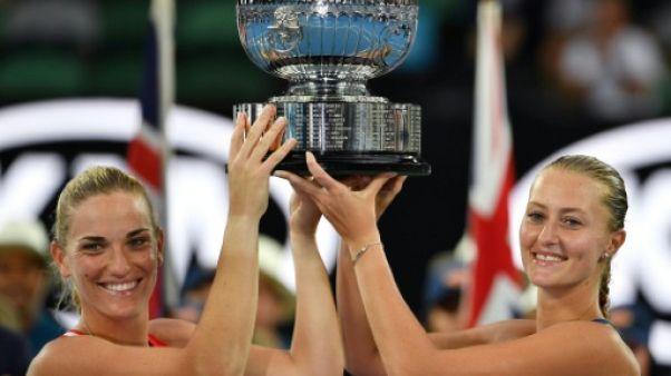 Open d'Australie: Mladenovic se relance en gagnant le double