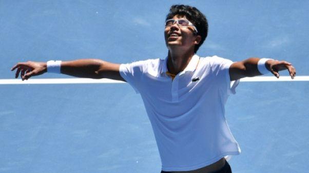 Open d'Australie: le jeune Chung défie le maître Federer