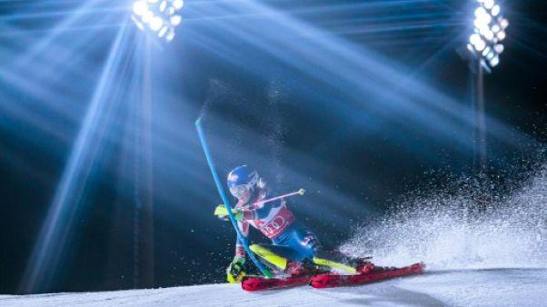 Ski: Shiffrin, une vue sur le cristal avant l'or olympique