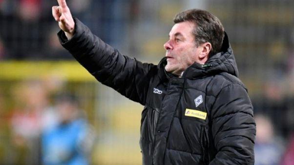 Allemagne: deuxième place en jeu vendredi entre Francfort et Mönchengladbach