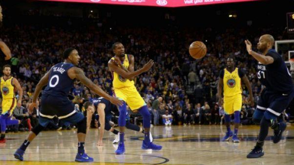 NBA: le récital Golden State, le show Westbrook