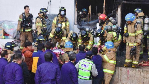 Corée du Sud: une quarantaine de morts dans l'incendie d'un hôpital
