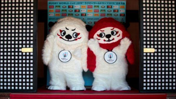 """Mondial-2019 de rugby: le Japon choisit les lions """"Ren"""" et """"G"""" comme mascottes"""