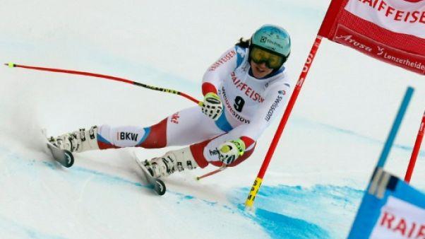 Ski: la Suissesse Holdener remporte le combiné de Lenzerheide