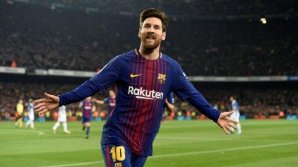 """Espagne: Messi juge le FC Barcelone """"sur la bonne voie"""" vers un triplé"""