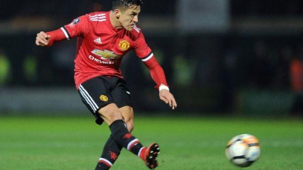 Coupe d'Angleterre: Manchester United et Sanchez en 8e de finale