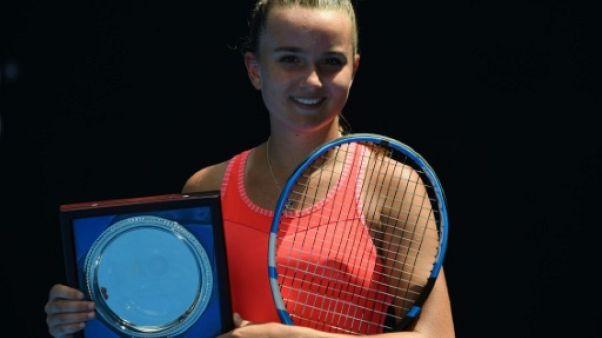 Open d'Australie: la Française Clara Burel battue en finale des juniors
