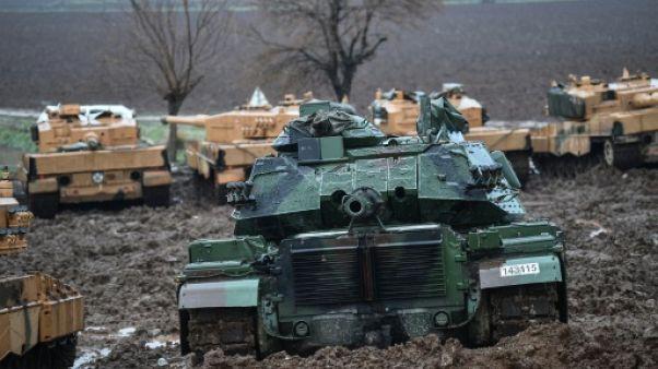 Offensive en Syrie: nouvel entretien téléphonique américano-turc
