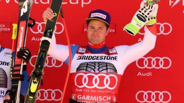 Ski: les autres n'y ont vu que du Feuz à Garmisch