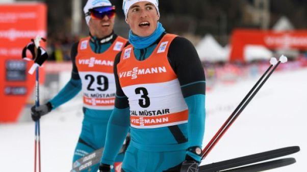 Ski de fond: Lucas Chavanat prend la 2e place du sprint libre à Seefeld