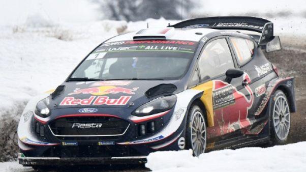 Rallye Monte-Carlo: Ogier entrevoit la cinquième