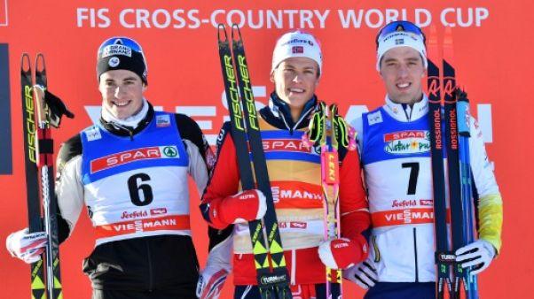 Ski de fond: Chanavat prend la 2e place à Seefeld