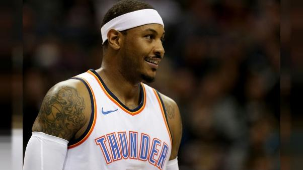 NBA: Carmelo Anthony dépasse les 25.000 points