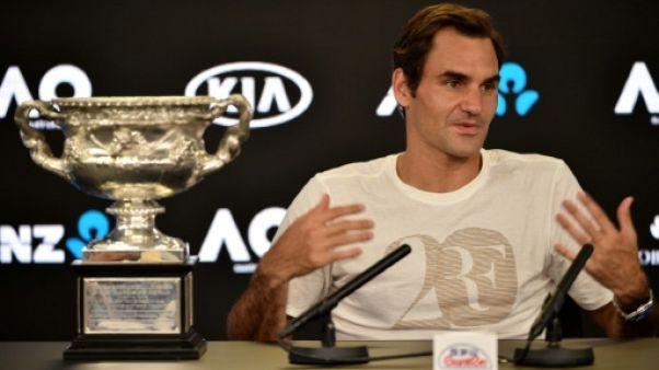"""Open d'Australie: """"Des moments excitants devant moi"""", déclare Roger Federer"""