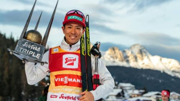 Combiné nordique: le Japonais Akito Watabe s'offre le Triplé à Seefeld