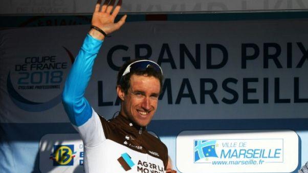 Cyclisme: Geniez et AG2R frappent un grand coup lors du GP La Marseillaise