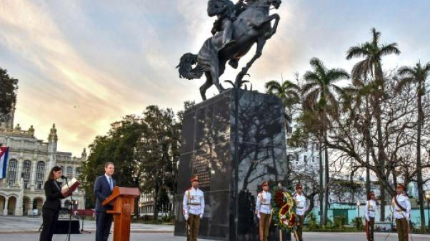 New York offre à La Havane une réplique de la statue d'un héros cubain