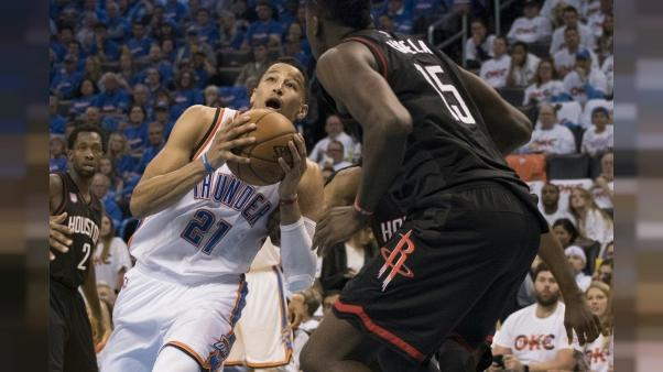 NBA: fin de saison pour Andre Roberson à Oklahoma