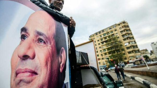 Egypte: la présidentielle s'annonce comme une formalité pour Sissi