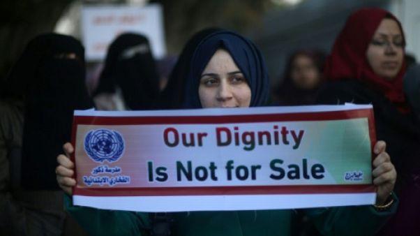 Des employés de l'ONU à Gaza protestent contre le gel de l'aide américaine