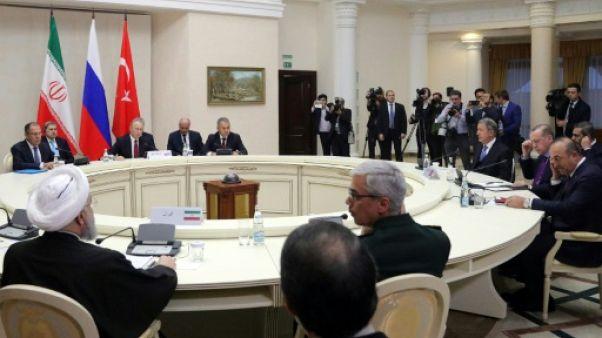 Syrie: réunion politique à Sotchi sans réel espoir de percée vers la paix