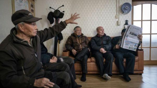 Le grand écart olympique des réfugiés nord-coréens vieillissants de Corée du Sud