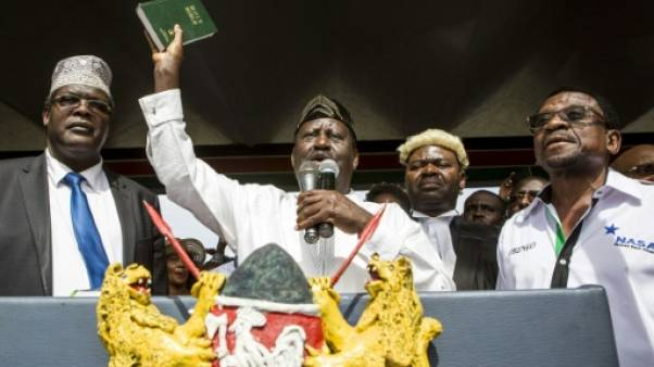 "Kenya: l'opposant Raila Odinga symboliquement investi ""président du peuple"""