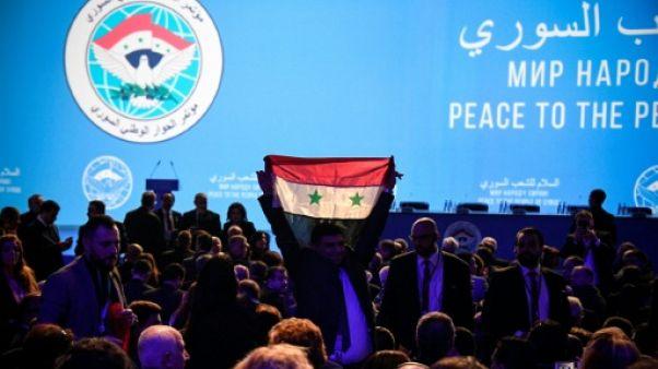 Sifflets et déclarations d'intention lors de la réunion sur la Syrie en Russie