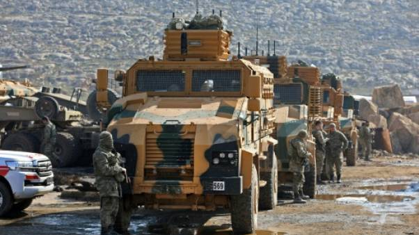 L'armée turque intensifie ses raids sur l'enclave kurde d'Afrine en Syrie