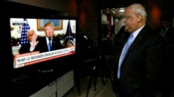 Refus palestinien de toute médiation américaine sans retrait de la décision sur Jérusalem