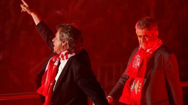 Portugal: le président du Benfica rattrapé par la justice