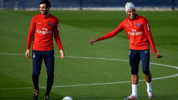 Coupe de la Ligue: le PSG avec Mbappé et Pastore titulaires face à Rennes