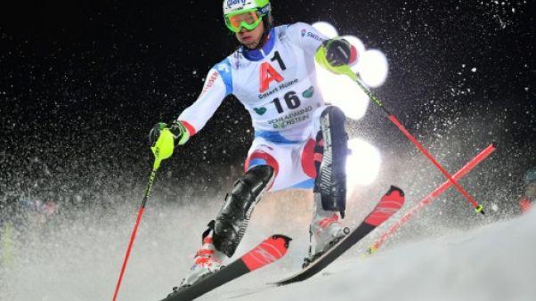 Ski: victoire à Stockholm de Zenhaeusern en slalom parallèle, Hirscher sorti en quarts
