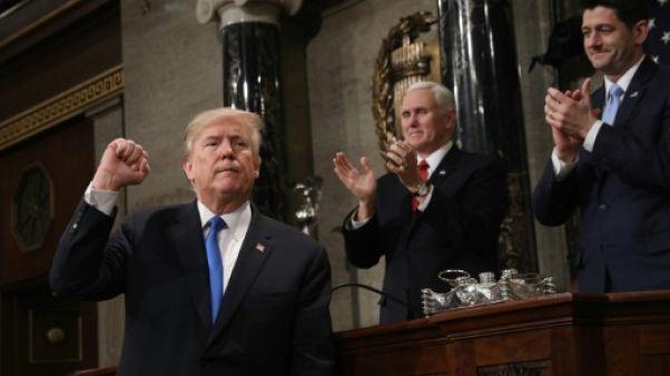 """Trump met en garde contre toute """"faiblesse"""" face aux ennemis de Washington"""